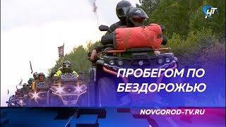 Новгородскую область посетили участники уникального пробега на квадроциклах «Дорога домой»