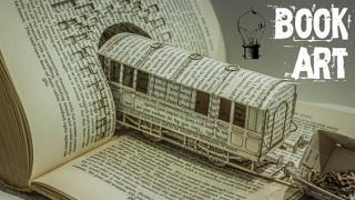 De Fabuleuses Créations Avec Des Livres – Book Art