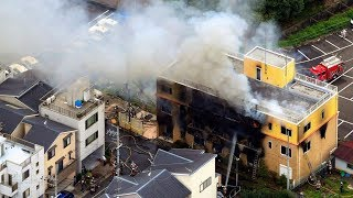 video: 33 dead in 'arson' attack at Japanese animation studio in Kyoto
