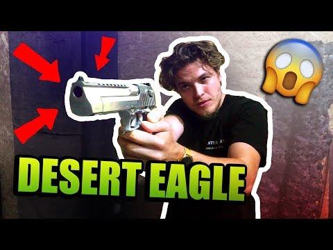 Ako strieľa NAJSILNEJŠIA PIŠTOĽ na svete ? ( silno