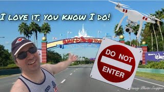 Michael Kay Breaks Into Disney World To Fly His Drone