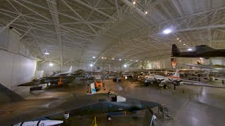 Strategic Air Command & Aerospace Museum - Hanger A - FPV Fly-Thru