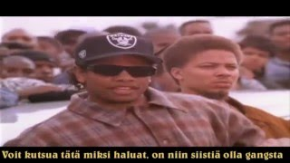 Eazy-E ft. 2Pac, Biggie, The Game & Ice Cube - Gangster Beat 4 The Street Remix (Finnish Subtitles)