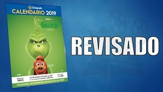 Calendario Cinépolis 2019 - Revisado