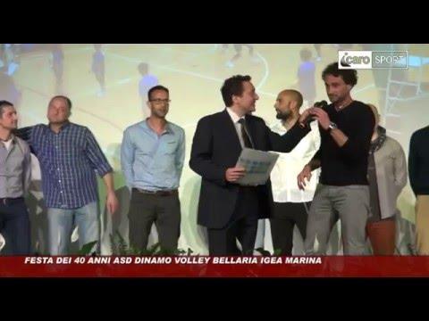 Preview video Icaro Sport. Festa dei 40 anni della Dinamo Volley Bellaria Igea Marina! 1976 - 2016