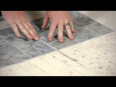 How to Lay Vinyl Tiles on Top of Old Flooring : Flooring Help