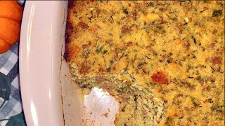 Cornbread Dressing Recipe  How to make Cornbread Dressing