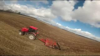 Трактор против FPV дрона