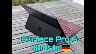 Surface Pro 6 Test: Da sehe ich schwarz