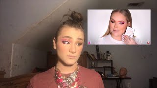 II followed three different tutorials Trying to become Nikkie tutorials