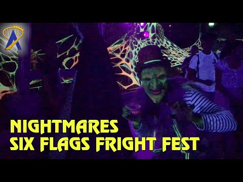 Nightmares – A Twisted Fantasy scare zone at Six Flags Magic Mountain's Fright Fest
