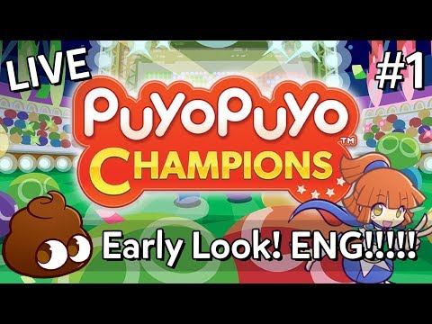 Gameplay de Puyo Puyo Champions