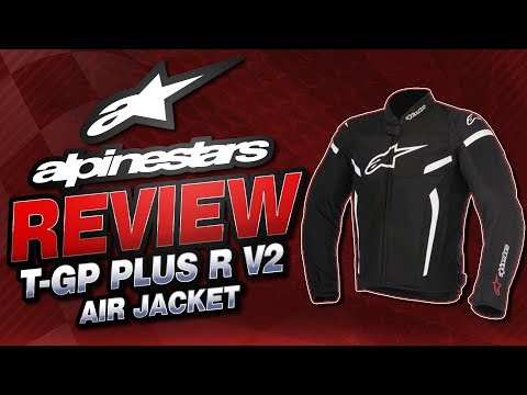Alpinestars T-GP Plus R V2 Air Jacket Review from Sportbiketrackgear.com