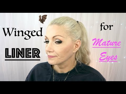 Winged Liner For Mature Eyes - BentlyK