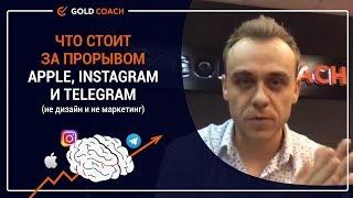 Иван Зимбицкий: Что стоит за прорывом Apple, Instagram и Telegram (не дизайн и не маркетинг)