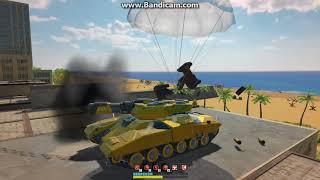 tanki x gameplay titan m2 + thunder m2 + gold league paint