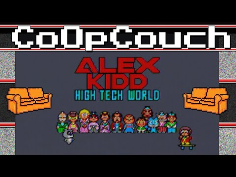CoOpCouch - Alex Kidd High Tech World - Sega Master System - High Tech my a**