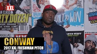 Vote for Conway for this year's XXL Magazine Freshman Class Shady Griselda