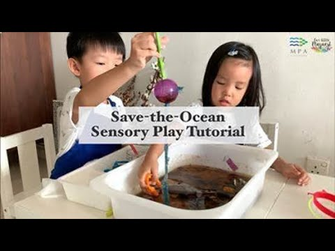 Save-the-Ocean Sensory Play Tutorial