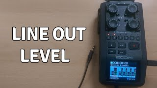 How To Modify The Line Out Level From Your Audio Recorder