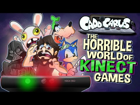 The Horrible World of Kinect Games - Caddicarus