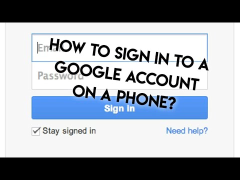 How To Sign In To A Google Account On An Android Phone ? Easy Step By Step Tutorial | Whimsy Crafter