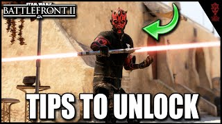 "How To Unlock ""Old Master"" Maul Skin Faster & Gameplay Showcase - Star Wars Battlefront 2"