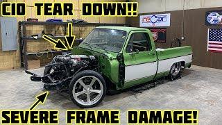 Rebuilding Gas Monkey Garage Wrecked 1976 Chevy C10 Part 2
