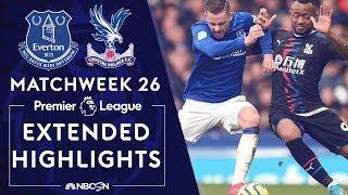 Everton v. Crystal Palace | PREMIER LEAGUE HIGHLIGHTS | 2/8/2020 | NBC Sports
