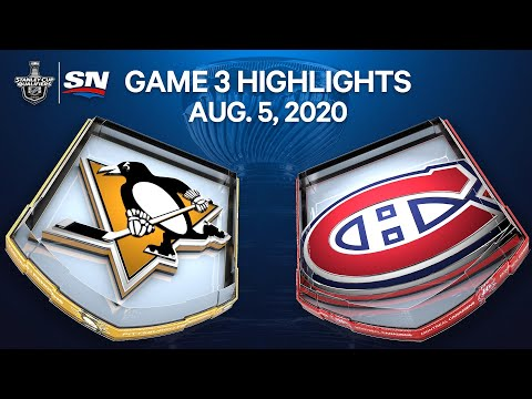 NHL Highlights | Penguins vs. Canadiens, Game 3 – Aug. 05, 2020