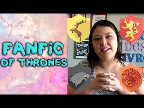 Fanfic of thrones - teorias dos fãs, usadas em Game of thrones (English subtitles)