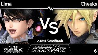 USW 6 - Lima (Bayonetta) vs FRKS | Cheeks (Cloud) Losers Semifinals - SSBU