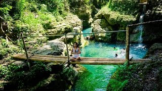 WaterFalls in Alegria Cebu Philippines