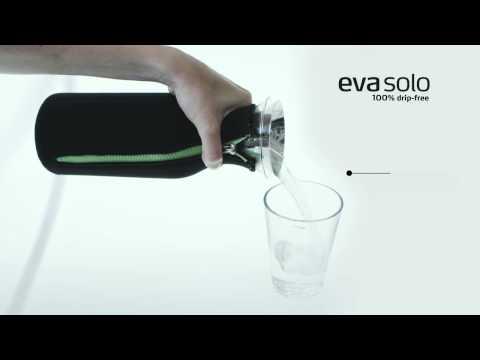 Youtube vidéo sur la carafe anti-gouttes d'Eva Solo