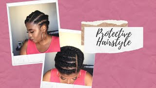Protective Hairstyle For The Lock-down | AvoryGrace