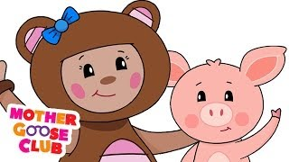 This Little Piggy - Mother Goose Club Rhymes for Kids