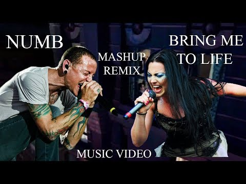 Linkin Park & Evanescence - Numb Life (Official Video) - Mashup Numb & Bring Me To Life