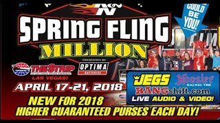 Spring Fling Million 2018 Racepak $30k Thursday