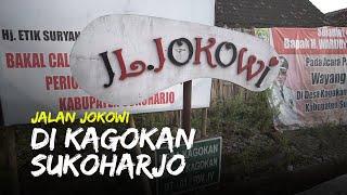 Menengok Jalan Jokowi di Desa Kagokan Sukoharjo, Diresmikan saat Momentum Pilpres Setahun Lalu