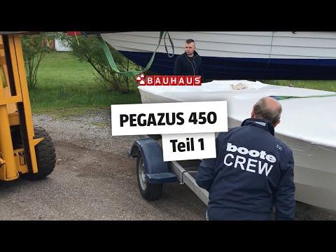 Motorboot selber bauen ► Pegazus 450 Bausatz ⚓ BAUHAUS Nautic (Teil 1)