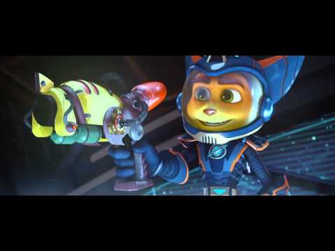 Video trailer för RATCHET AND CLANK - 'Combat Gear' Clip - In Theaters April 29