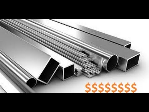 How do you tell the difference between Aluminium and Stainless Steel and Steel?