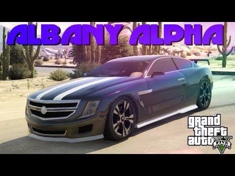 GTA 5 Custom Cars - #52 Albany Alpha - Drifting At Sandy Shores