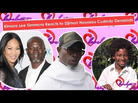 Kimora Lee Simmons Reacts To Djimon Hounsou Custody And Child Support Demands!