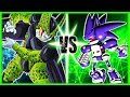 Perfect Cell Vs Mecha Sonic Ft.Rewind Rumble