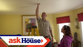 How to Add an Overhead Light   Ask This Old House