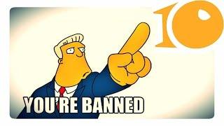 НЕЛЬЗЯ! 10 запрещённых игр | PERFECT 10