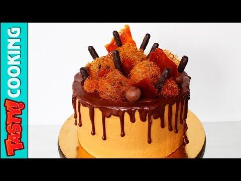 Video ???? Coffee Chocolate Caramel Cake Recipe ♥ Man Cake Decorating Tutorial ♥ Tasty Cooking