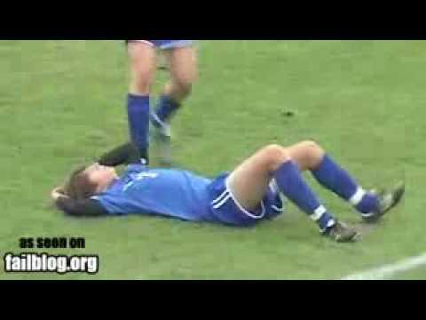 Funny Soccer Fail