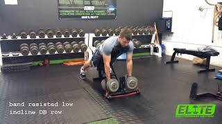 Develop MAXIMAL Back Strength with Bands
